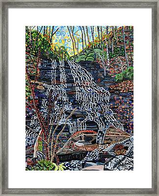 Pearson's Falls Framed Print by Micah Mullen
