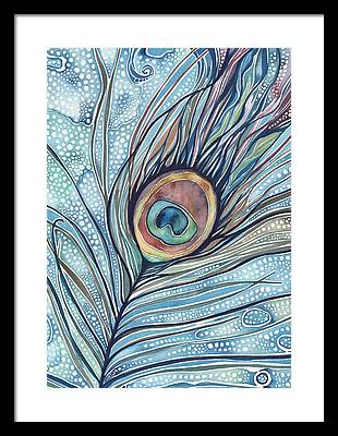 Peacock Framed Prints