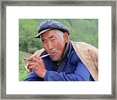 Peasant Farmer Framed Print