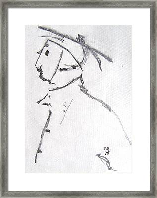 Peasant Framed Print