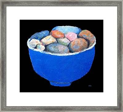 Pebbles Memories Framed Print