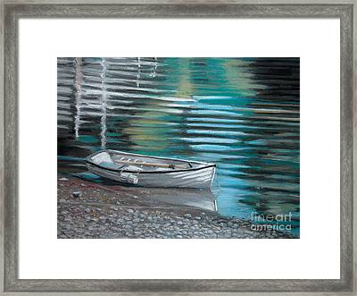 Pebbles Framed Print by Synnove Pettersen