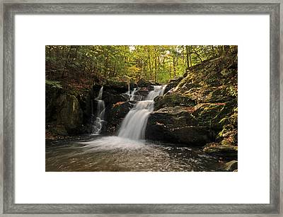 Pecks Falls Framed Print by Mike Martin