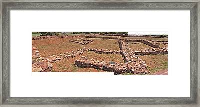 Pecos National Monument - 3 Framed Print by Randy Muir