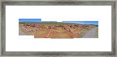 Pecos National Monument - 4 Framed Print by Randy Muir