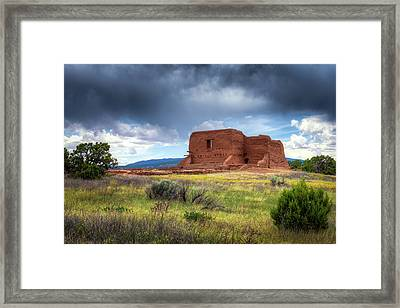 Pecos National Historical Park Framed Print