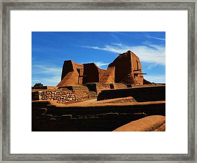 Pecos New Mexico Framed Print