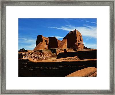 Pecos New Mexico Framed Print by Joseph Frank Baraba