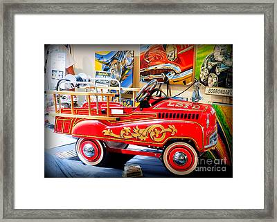 Peddle Car 1 Framed Print