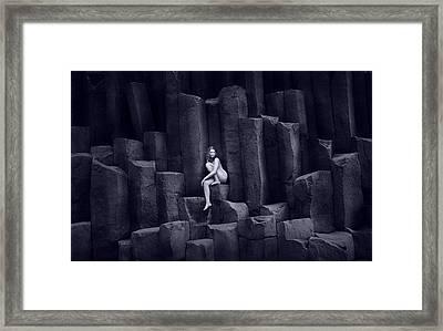 Pedestal Framed Print