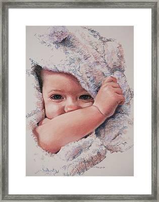 Peek A Boo Framed Print by Christopher Reid