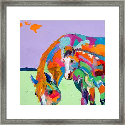 Peek A Boo Framed Print by Tracy Miller
