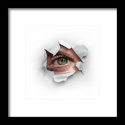 Expression Framed Prints