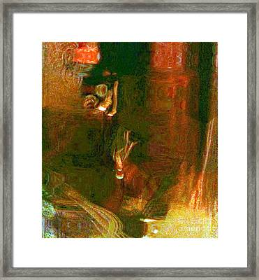 Peekaboo Framed Print by Fania Simon