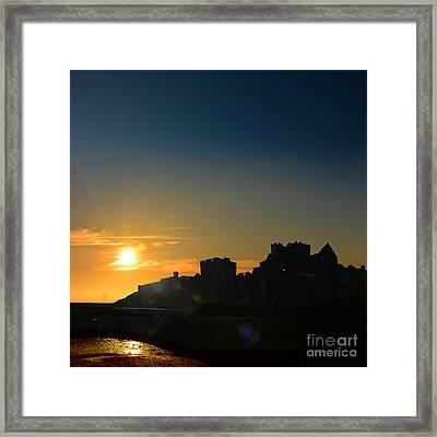 Peel Castle Framed Print