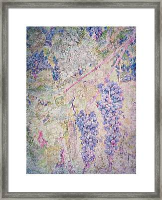 Peeling Grapes Framed Print by Dorothy Berry-Lound