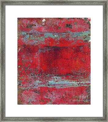 Peeling Wall Framed Print