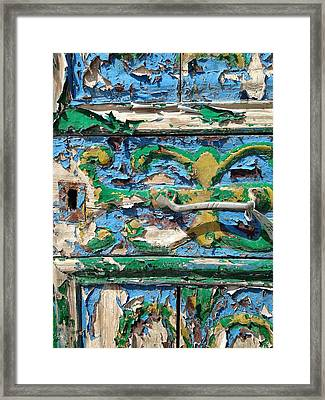 Framed Print featuring the photograph Peels Of Time by Olivier Calas
