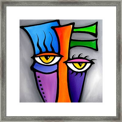 Peepers Framed Print by Tom Fedro - Fidostudio