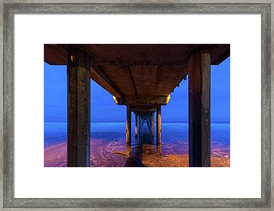 Peer Underneath Framed Print