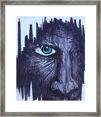 Peering Inward Framed Print