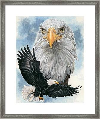 Peerless Framed Print by Barbara Keith