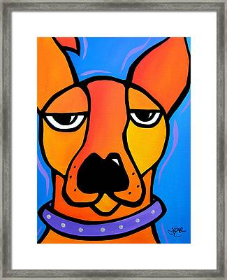 Peeved Framed Print by Tom Fedro - Fidostudio