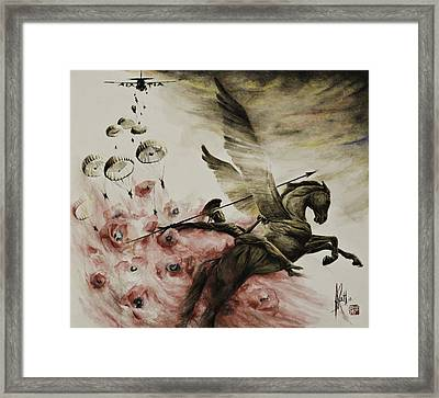 Pegasus Framed Print by Alan Kirkland-Roath