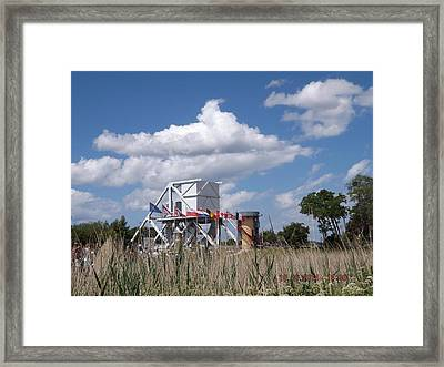 Pegasus Bridge Framed Print