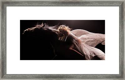 Framed Print featuring the photograph Pegasus Crop by Dario Infini