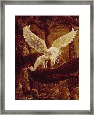 Pegasus Framed Print by Steve Roberts