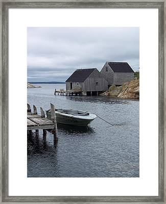 Framed Print featuring the photograph Peggys Cove Canada by Richard Bryce and Family