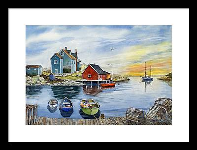 Nova Scotia Framed Prints