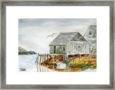 Peggys Cove Framed Print