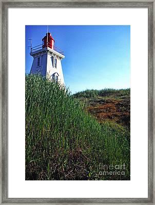 Pei Lightstation Framed Print by Thomas R Fletcher