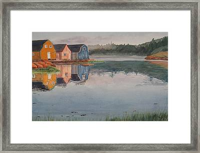 P.e.i. Morning Framed Print by Debbie Homewood