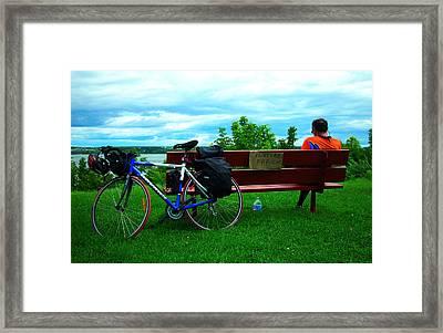 Peinture Fraiche ... Framed Print