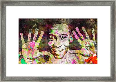 Pele Framed Print by Svelby Art