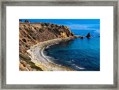 Pelican Cove Framed Print