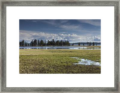 Pelican Creek Framed Print