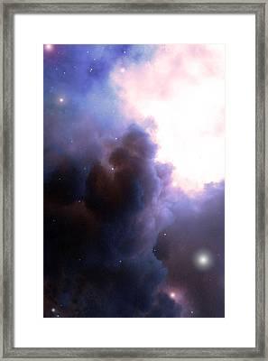 Pelion Nebula Framed Print