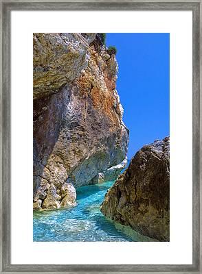 Pelion Rocks Framed Print by Neil Buchan-Grant