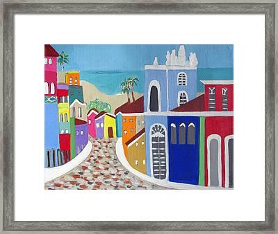 Pelourinho Framed Print by Fatima Neumann