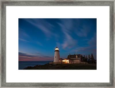 Pemaquid Dawn Framed Print by Darren White