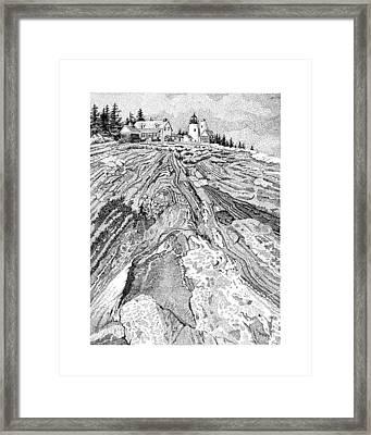 Pemaquid Light Framed Print