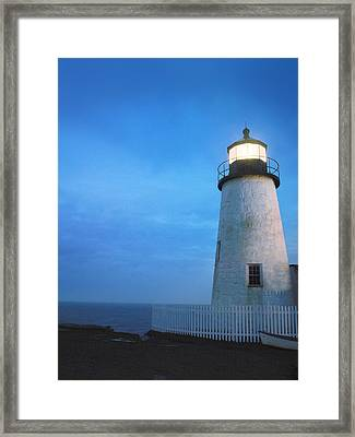 Pemaquid Lighthouse, Bristol, Me Framed Print