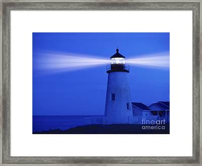 Pemaquid Lighthouse Framed Print