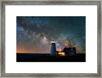 Pemaquid Mysteries Framed Print by Darren White