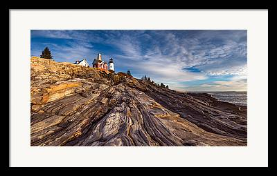 Pemaquid Lighthouse Framed Prints