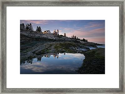 Pemaquid Point Light Framed Print by Juergen Roth